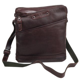 b98d97fa152af ... Greenburry Authentic Pullup Handtasche Ledertasche Tasche braun