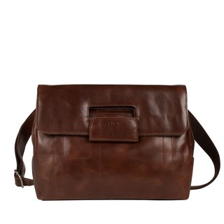Zwei PHIL PH7 brown cinturon Ledertasche