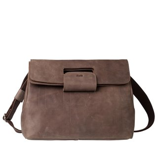 Zwei PHIL PH7 brown Ledertasche
