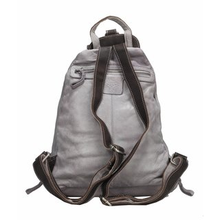 Billy the Kid by Greenburry Reptile Rucksack light grey