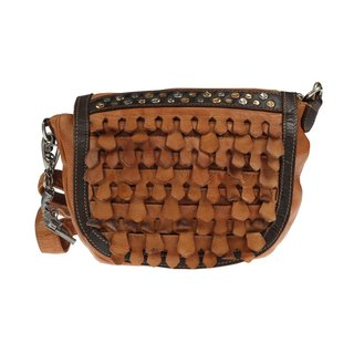 Billy the Kid by Greenburry Reptile Saddle Bag camel