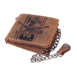 Greenburry Billy the Kid  Herren Leder Geldbörse Portemonnaie Braun 12x10x2 cm