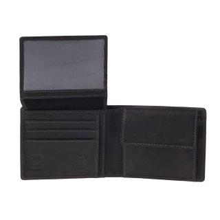 aec798c72a74e Greenburry Vintage RFID Geldbörse Leder Portemonnaie schwarz ...