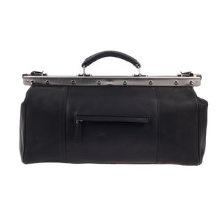 Greenburry OILY TUMBLED Aktentasche Doktortasche Schwarz 44x16x28 cm
