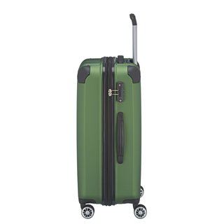 TRAVELITE CITY 4w Koffer Trolley  M exp, Grün