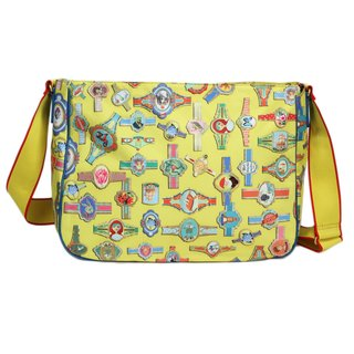 Oilily Fairy Tapes Schultertasche A4 - Yellow