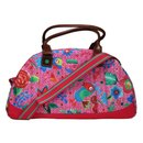 Oilily Funky Flowers Bowling Bag - Pink